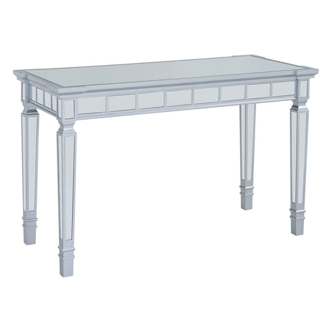 Image of Glenview Glam Mirrored Writing Desk w/ Drawers