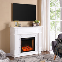 Load image into Gallery viewer, Highgate Alexa Smart Fireplace – White  -  FS9322