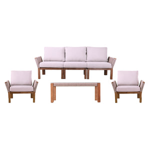 Brendina Outdoor Conversation Set – 4pc