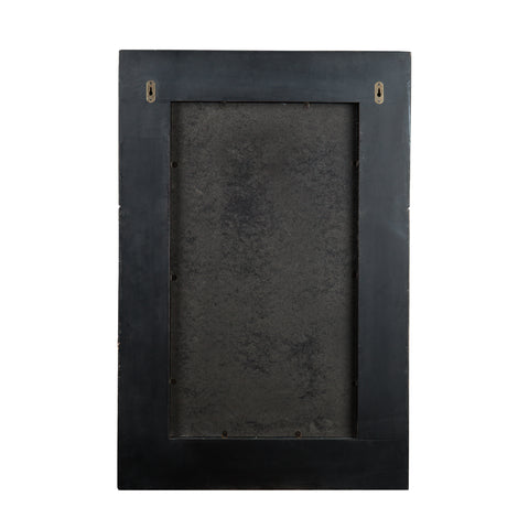 Wagars Mirror - Burnt Oak/Black