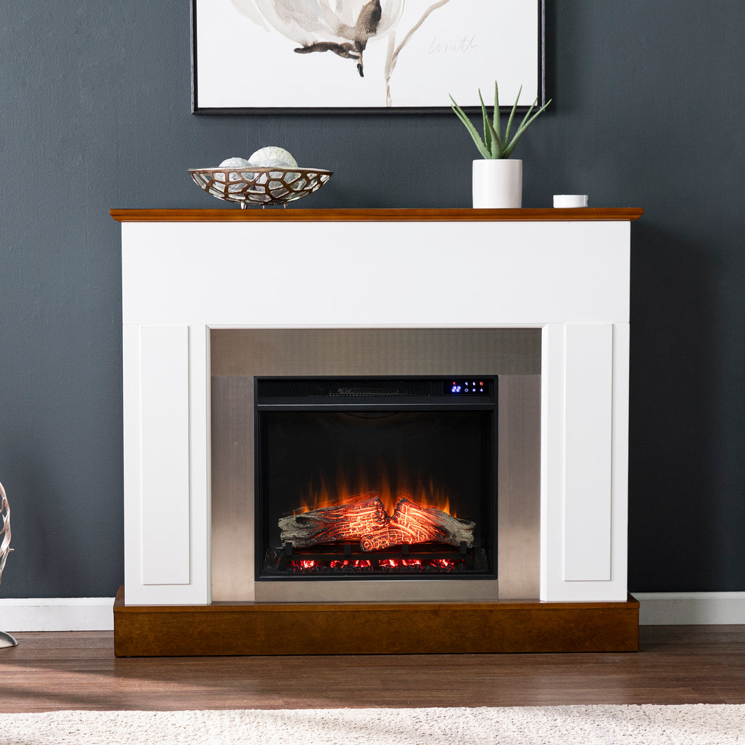 Eastrington Industrial Electric Fireplace  -  FR1027159