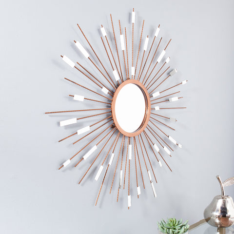 Starburst  Mirrored Wall Sculpture