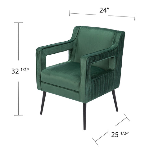 Martense Upholstered Accent Chair