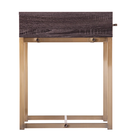 Akmonton Square End Table w/ Storage