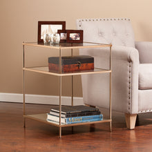 Load image into Gallery viewer, Knox Side Table - Warm Gold  -  OC2204