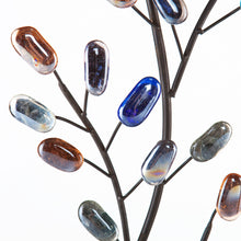 Load image into Gallery viewer, Brenchan Metal/Glass Tree Wall Sculpture  -  WS9558