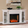 Henstinger Alexa Smart Fireplace w/ Bookcase