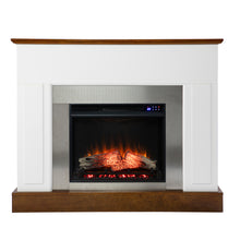 Load image into Gallery viewer, Eastrington Industrial Electric Fireplace  -  FR1027159