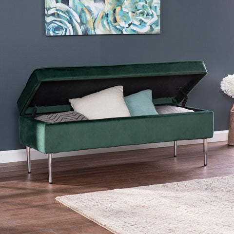 Aspley Upholstered Storage Bench