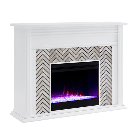 Image of Hebbington Color Changing Fireplace