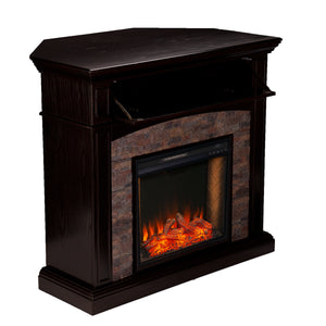 Grantham Alexa Smart Corner Fireplace