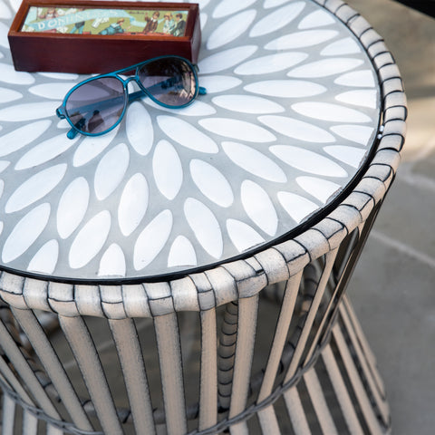 Melilani Round Outdoor Side Table
