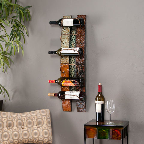 Adriano Wall-Mount Wine Storage