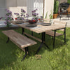 Standlake Slatted Outdoor Dining Table