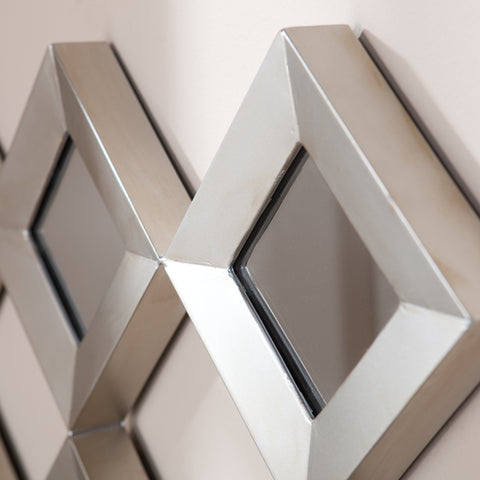 Masada Mirrored Squares Wall Sculpture
