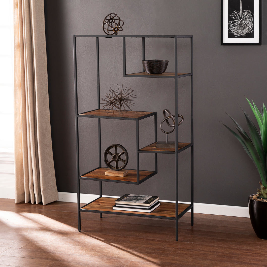 Mathry Reclaimed Wood Etagere  -  HZ1058338