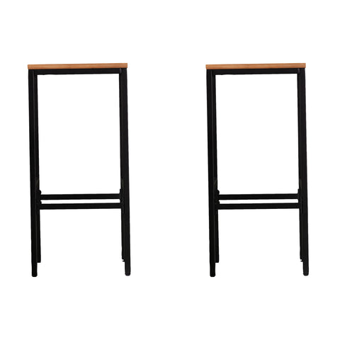 Image of Venallo Indoor/Outdoor Barstools - 2pc Set
