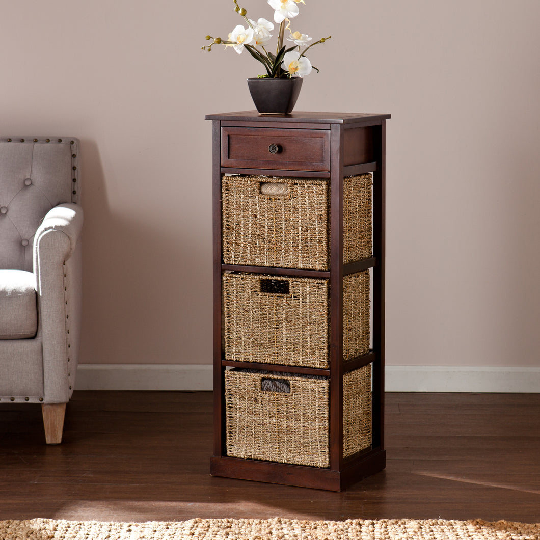 Kenton 3-Basket Storage Tower  -  HZ6753