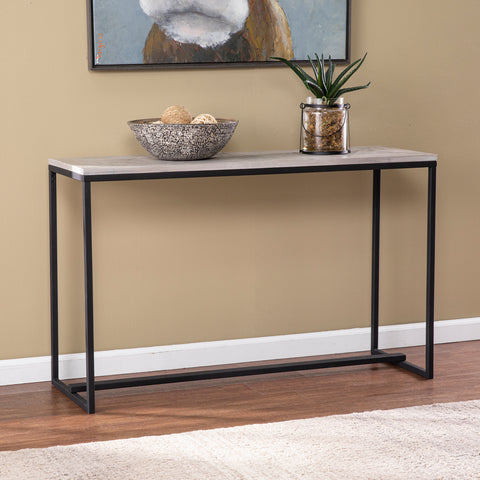 Sharnbrook Long Reclaimed Wood Console Table