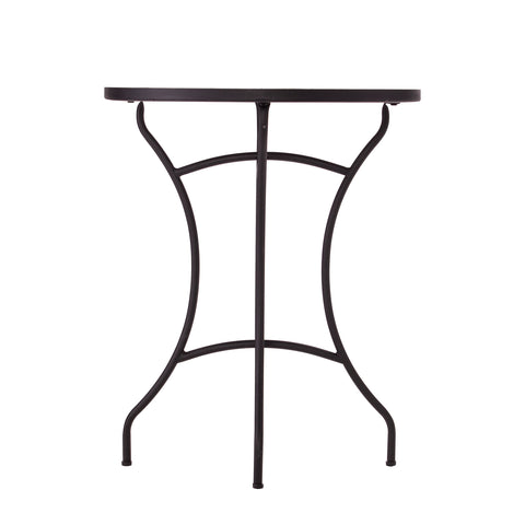 Fynfield Round Outdoor Accent Table