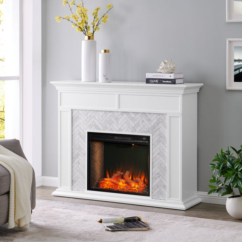 Torlington Alexa Smart Fireplace