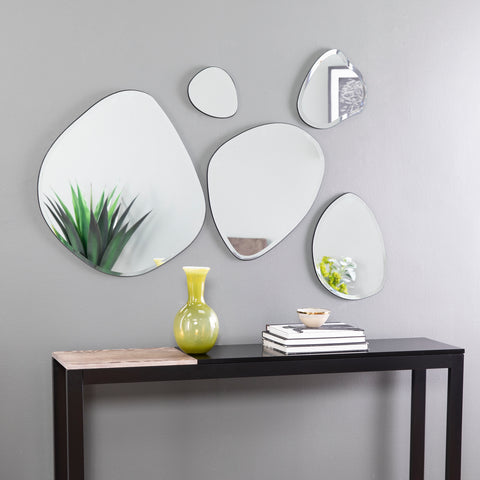 Woxsley 5pc Decorative Mirror Set
