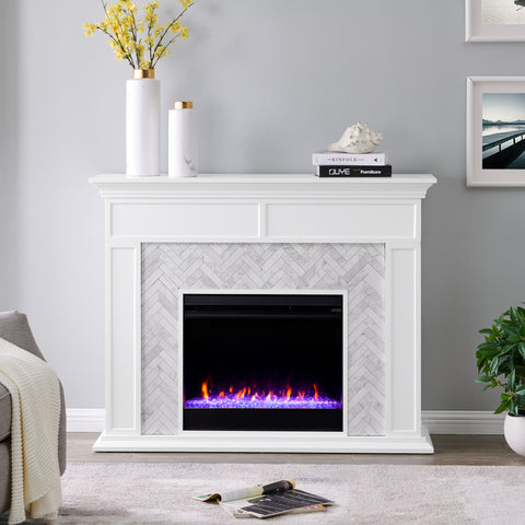 Torlington Color Changing Fireplace