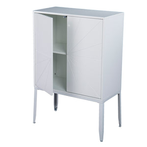 Zetherdale Double-Door Storage Cabinet - White