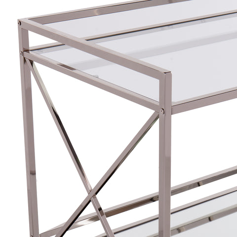 Image of Maxton Silver Bar Cart