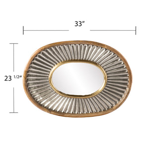 Froxley Oval Decorative Mirror