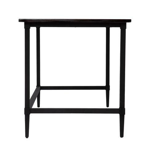 Lawrenny Reclaimed Wood Desk - Black