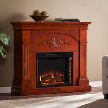 Load image into Gallery viewer, Sicilian Harvest Electric Fireplace - Mahogany  -  FE9277