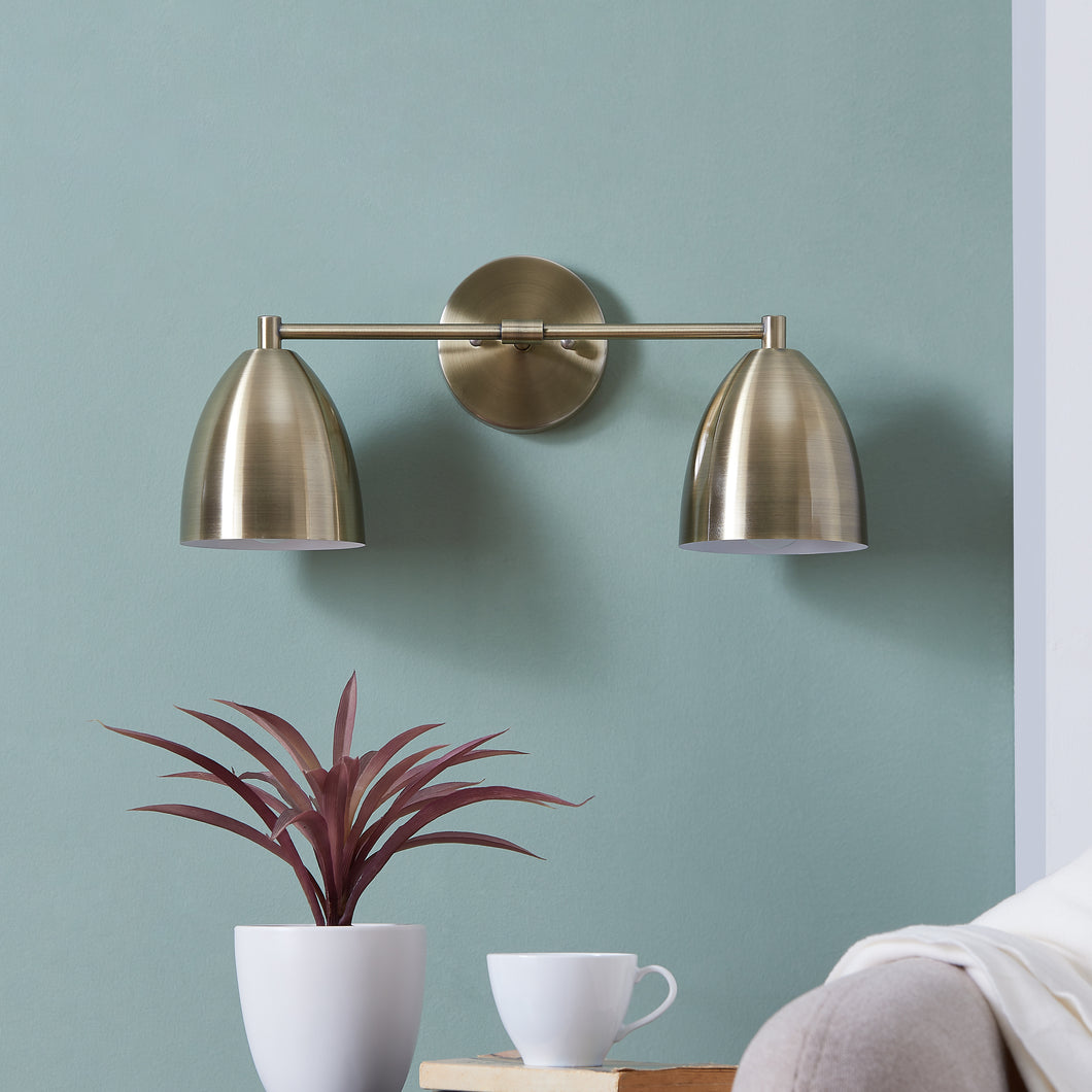 Ridley 2-Light Wall Sconce – Antique Bronze  -  LT8012