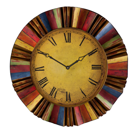 Image of Multicolor Wall Clock