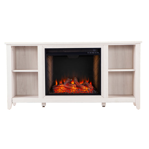 Image of Parkdale Alexa Smart Fireplace – White