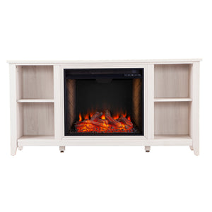 Parkdale Alexa Smart Fireplace – White
