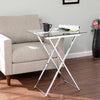 Meridino Folding Tray Table - Chrome
