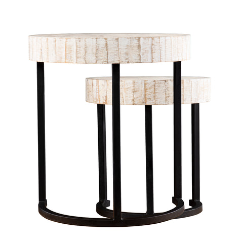 Image of Kennerly Nesting Side Tables – 2pc Set