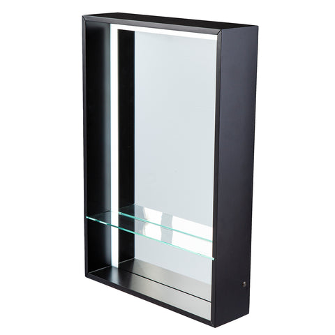 Wervin Lighted Mirror w/ Shelf