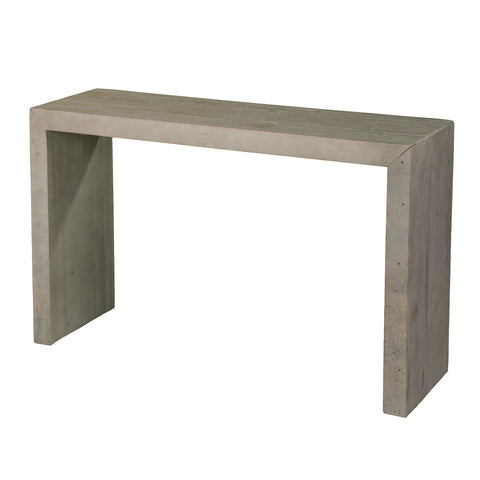 Image of Bletherston Reclaimed Wood Console Table - Gray
