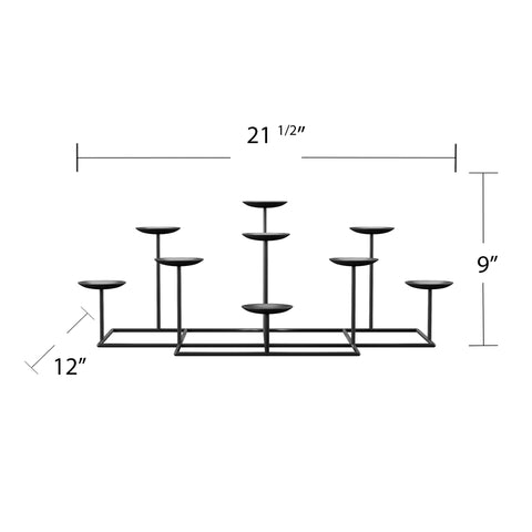 Image of 9 Candle Candelabra