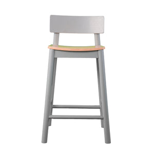 Claxby Two-Tone Counter Stools – 2pc Set