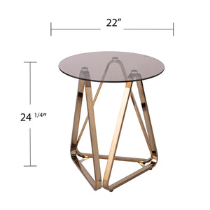Stondon Round End Table
