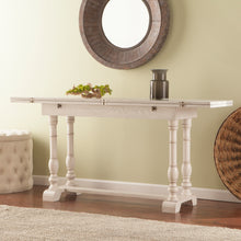 Load image into Gallery viewer, Edenderry Console to Dining Table - White  -  DN0894