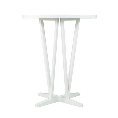 Image of Dvon White Bar Height Table