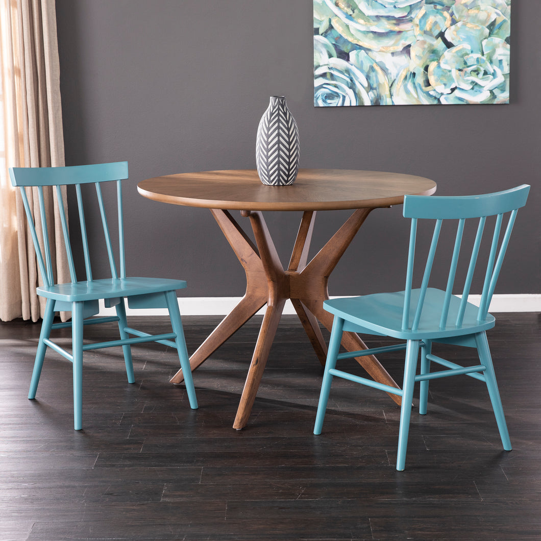 Wendlebury Blue Dining Chair Set – 2pc  -  DN1088708
