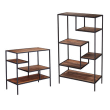 Load image into Gallery viewer, Mathry Reclaimed Wood Etagere  -  HZ1058338