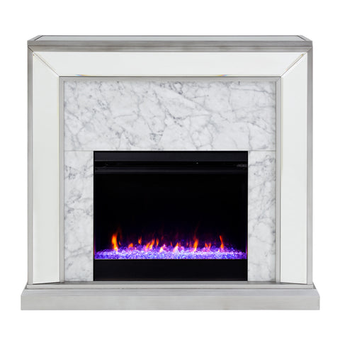 Trandling Color Changing Fireplace