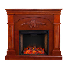 Load image into Gallery viewer, Sicilian Alexa Smart Fireplace - Mahogany  -  FS9277