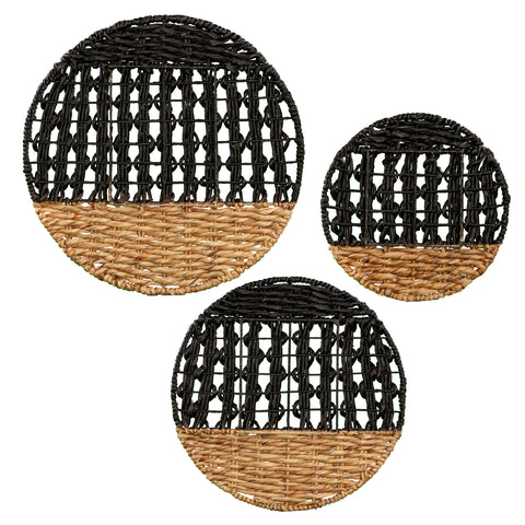 Image of Mable Woven Wall Décor- 3pc Set